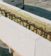 Армирование блоков газосиликата