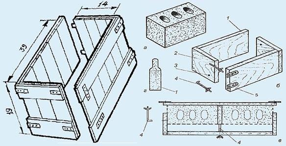 Как сделать керамзитобетонные блоки своими руками