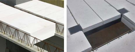 Перекрытия из газобетона, плиты и сборно-монолитные перекрытия, типы и цены