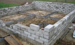 Строительство домов из пенобетона - особенности и технология строительства загородного дома