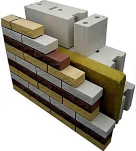 Газобетонный блок и кирпич