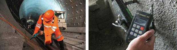 Как проводится контроль прочности материалов, а именно бетона