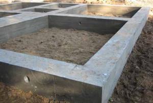Марка бетона для фундамента ленточного типа и других, подбор марки