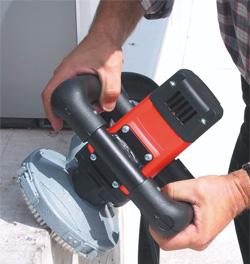 Машинки и чашки для шлифовки бетона