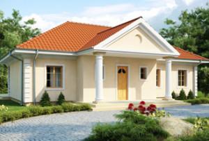 Одноэтажные дома из блоков газобетона