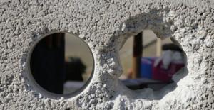 Отверстия в бетоне