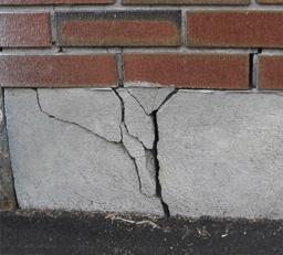 Ремонт трещин и укрепление фундаментной кладки