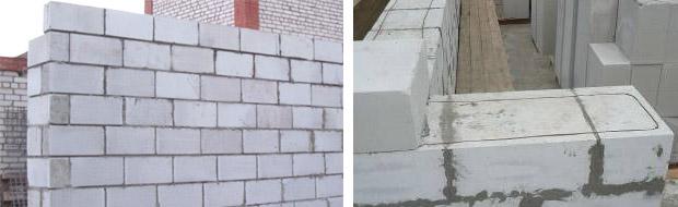 Стена из газосиликата - толщина блоков, их отделка и утепление, лучшие варианты