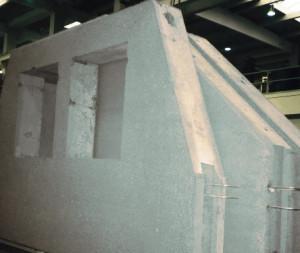 Стены из монолитного бетона