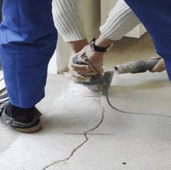 Как постелить линолиум на бетон