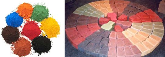 Красители для бетона