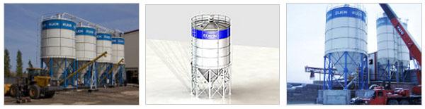 Силосы и склады цемента