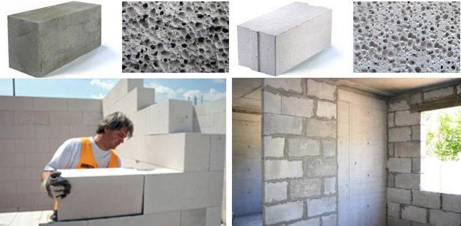 Сравнительные хаарктеристики - что лучше из ячеистых бетонов