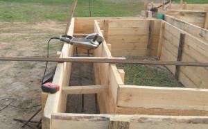 Строим фундамент для будущего дома