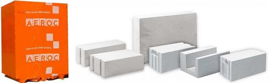 Газобетонные блоки от производителя Аэрок