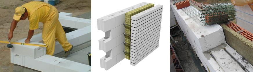 Инструкция по кладке стены из газосиликатных блоков