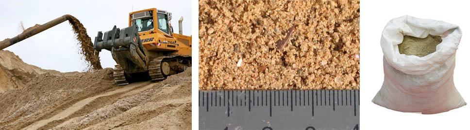 Сколько стоит крупнозернистый речной песок