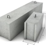 Блоки железобетонные фундаментные ФБС 6-6-6
