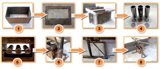Изготовление оборудования для шлакоблоков