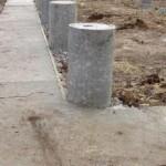 Используем асбестоцементные трубы для постройки фундамента