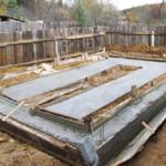 Какой выбрать фундамент под гараж - нюансы строительства