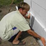 Способы утепления основания дома при помощи пенопласта