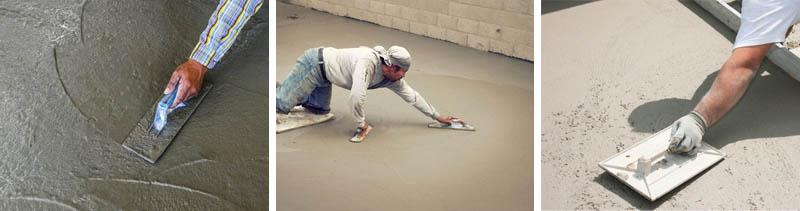 Упрочнение оснований из бетона