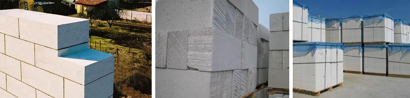 Фото газосиликатных стройматериалов