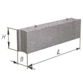 Фундаментный блок из бетона