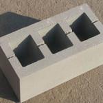 Бетонные стеновые и фундаментные блоки размером 400х200х200