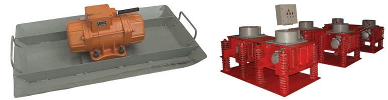 Виброплощадки для бетонных оснований