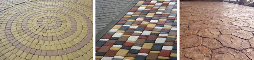 Декоративная тротуарная плитка