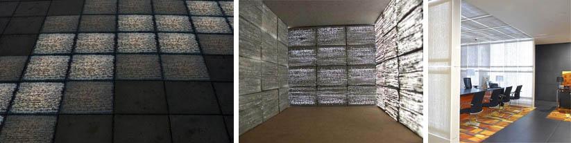 Применение прозрачных панелей