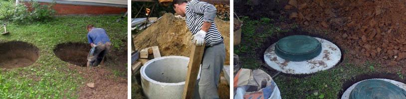 Самостоятельный монтаж бетонных колец
