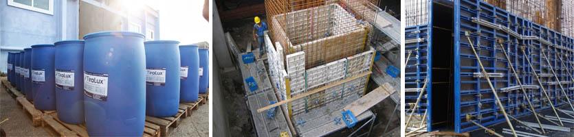 Смазки для опалубочных конструкций