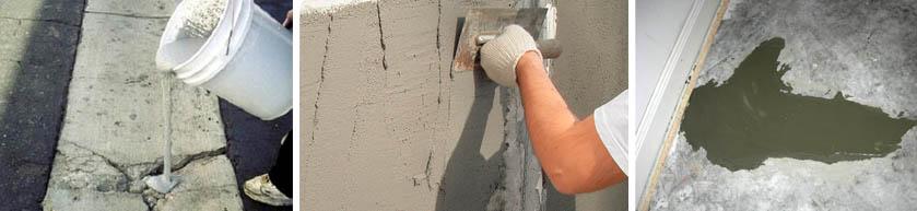 Смеси для ремонта бетонных сооружений