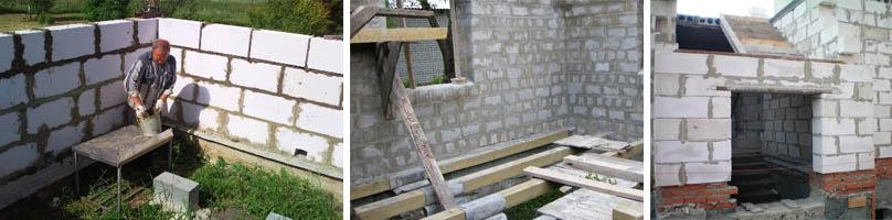 Строительство дома своими руками