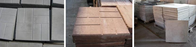 Тротуарный камень для дорожек