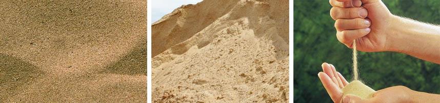 Особенности карьерного песка