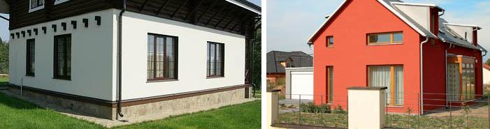 Покраска стен частного дома