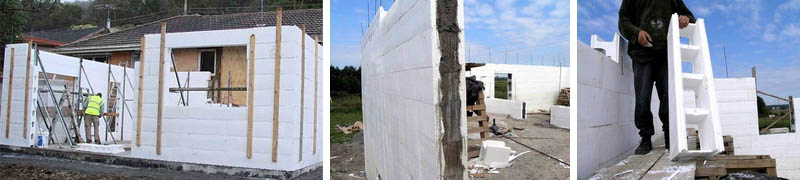 Опалубка стеновая из пенополистирола