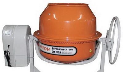Бетономешалка СМ-160Н