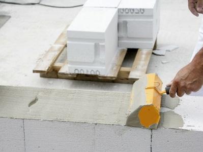 Инструкция по укладке газобетона на клей
