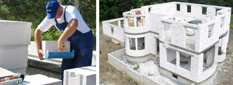 Коттедж из газобетона - начинаем строительство