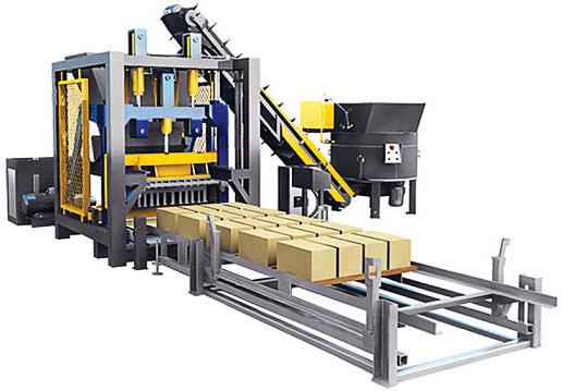 Механизированные станки для изгтовления керамзитобетонных блоков