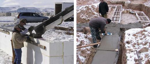 Морозостойкость бетона и его марки, определение и повышение морозостойкости