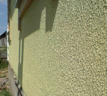 Обработка фасадной краской
