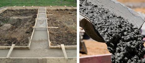 рацион бетона