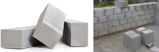 Строительные блоки из пенобетона