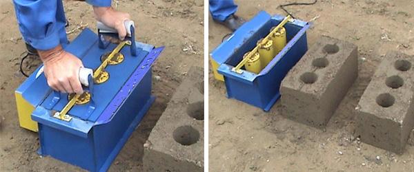 Технология производства блоков из керамзитобетона
